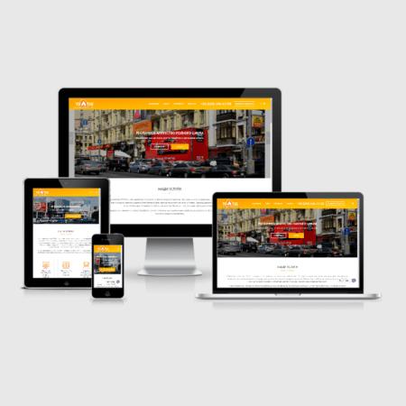 Создание сайта рекламного агенства