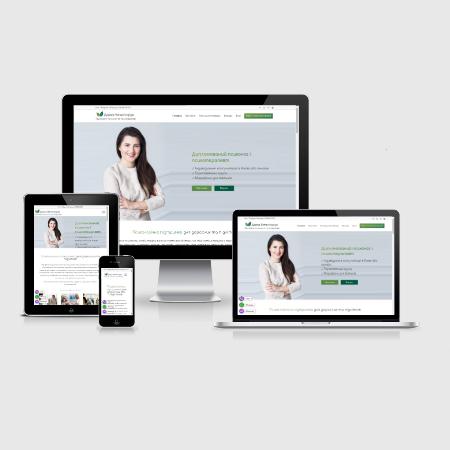 Создание сайта-визики для психотерапевта